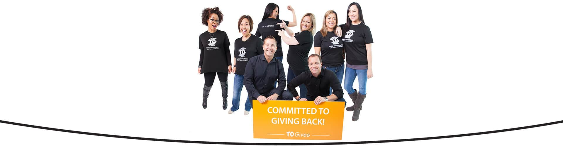 Committed to Giving Back at Total Orthodontics in Lone Tree and Greenwood Village CO