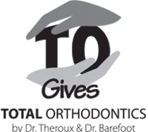 TO Gives Logo at Total Orthodontics in Lone Tree and Greenwood Village CO