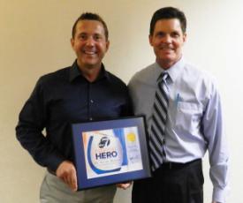 Orthodontist Dr. Kevin Theroux 7News Everyday Hero Award - Smile for a Lifetime Greater Denver